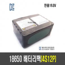 18650 배터리 팩(4S12P)